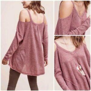 NWT Deletta Cold Shoulder Sweater Medium